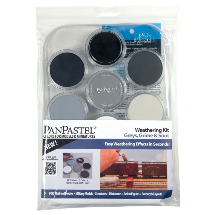 Weathering Kit - Greys in the group Art Supplies / Colors / Pastels at Pen Store (106078)