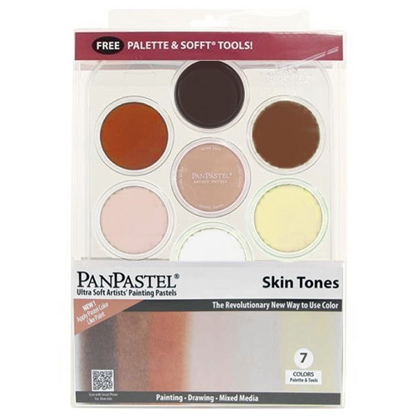 Skin Tones Set in the group Art Supplies / Colors / Pastels at Pen Store (106080)