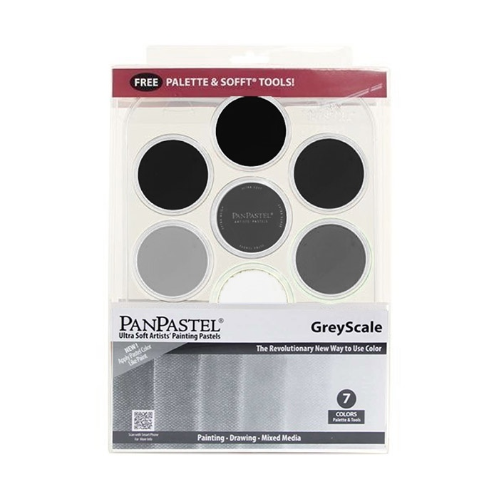 Grey Scale Set in the group Art Supplies / Colors / Pastels at Pen Store (106081)