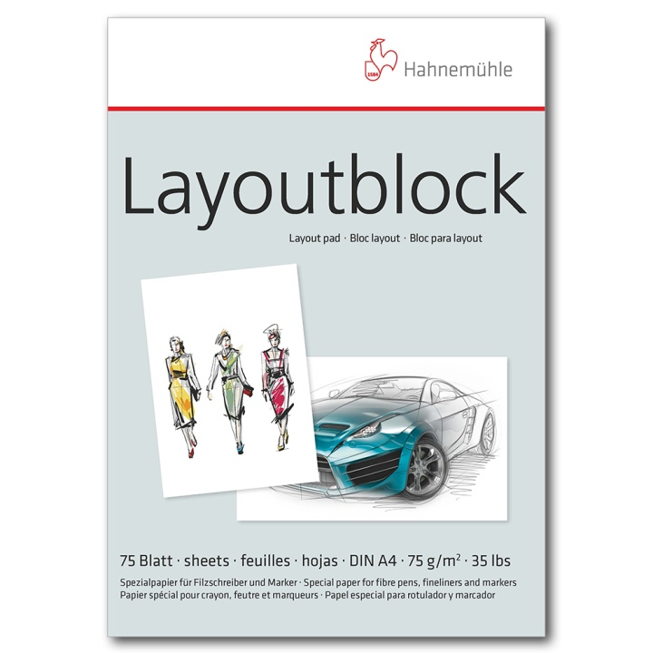 Layoutblock in the group Paper & Pads / Artist Pads & Paper / Tracing Paper at Pen Store (106122)