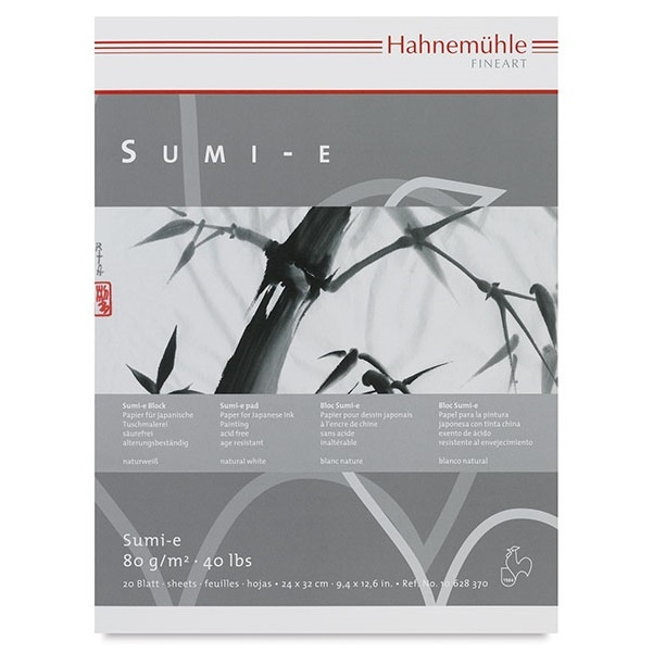 Sumi-e pad A4 in the group Paper & Pads / Artist Pads & Paper / Watercolor Pads at Pen Store (106216)