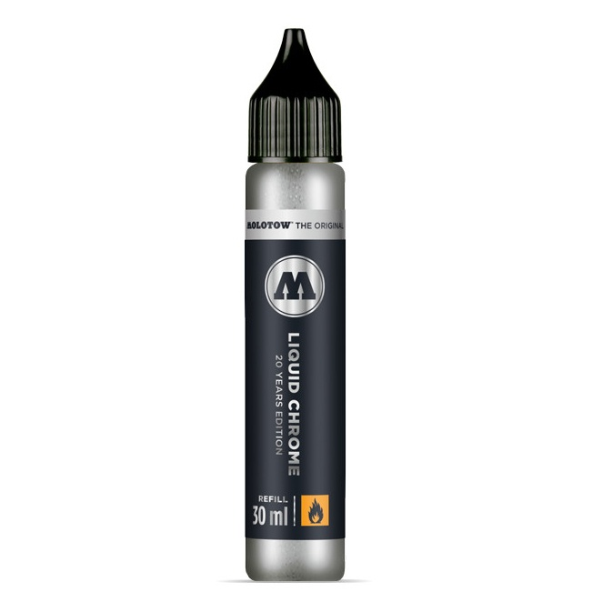 Molotow Liquid Chrome REFILL 30ml in the group Pens / Pen Accessories / Cartridges & Refills at Pen Store (106522)