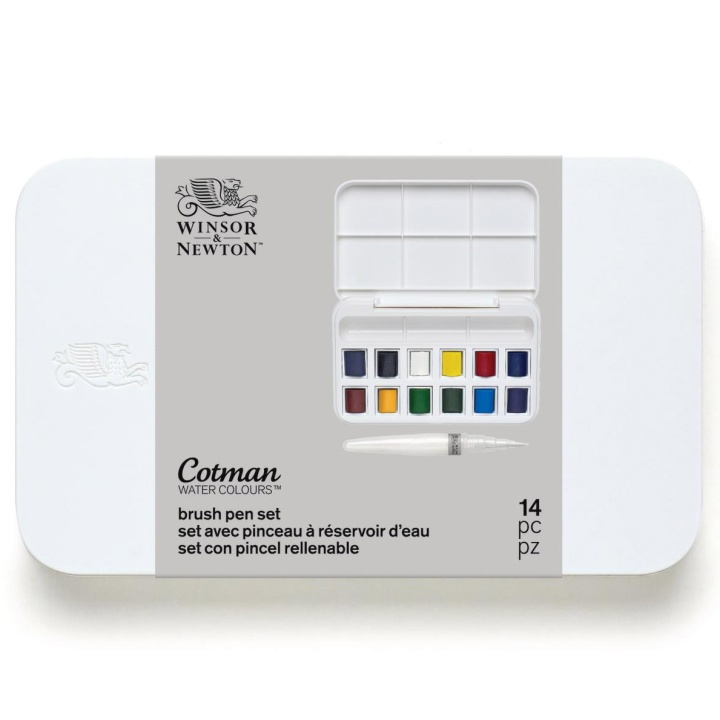 Cotman Brush Pen Set in the group Art Supplies / Colors / Watercolor Paint at Pen Store (107245)