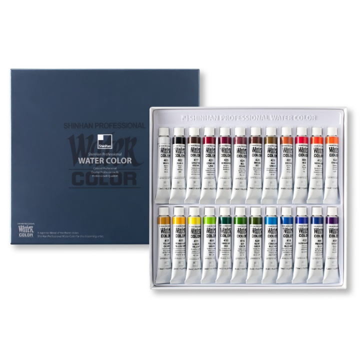 Water Colors PRO 24-set in the group Art Supplies / Colors / Watercolor Paint at Pen Store (107247)