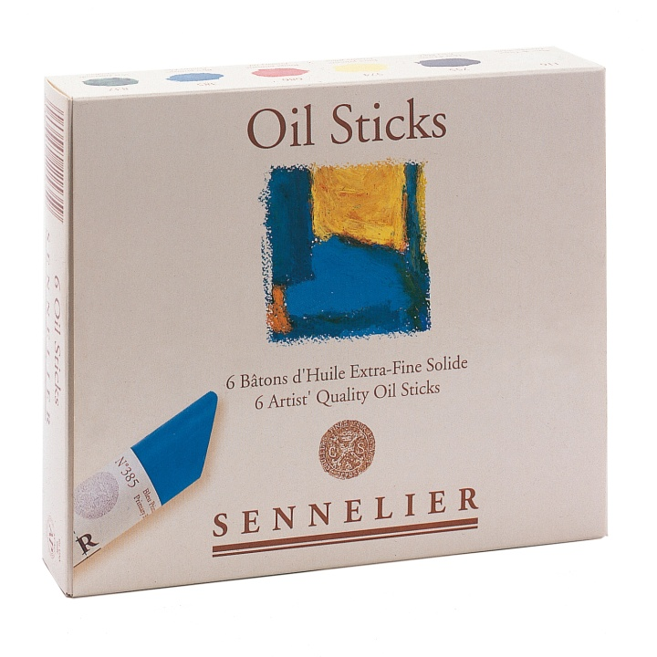 Oil Stick Start Set 6-pack in the group Art Supplies / Crayons & Graphite / Crayons at Pen Store (107250)