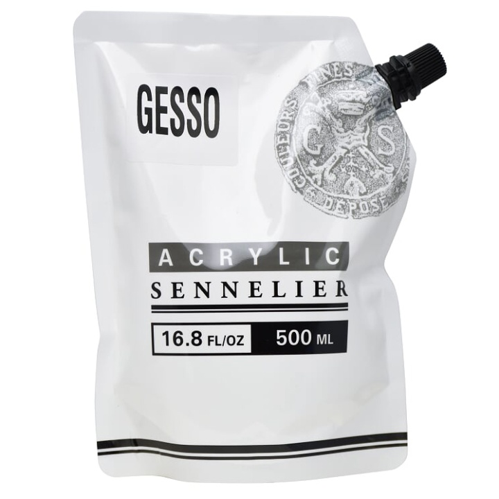 Abstract Gesso 500 ml in the group Art Supplies / Mediums & Varnishes / Gessos & Primers at Pen Store (107529)