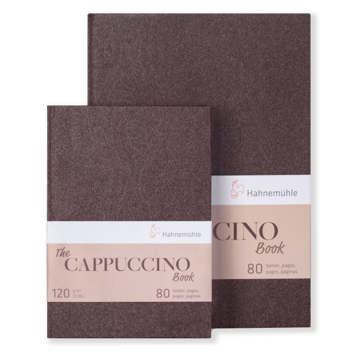 The Cappuccino Book A4 in the group Paper & Pads / Artist Pads & Paper / Colored Papers at Pen Store (107599)