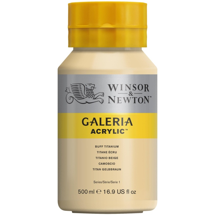 Galeria Acrylic 500 ml in the group Art Supplies / Colors / Acrylic Paint at Pen Store (107850_r)