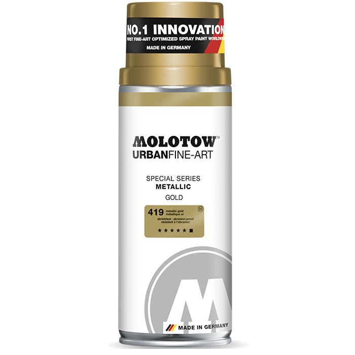 Acrylic Spray UrbanFineArt Metallic 400 ml in the group Art Supplies / Colors / Spray Paint at Pen Store (108241_r)