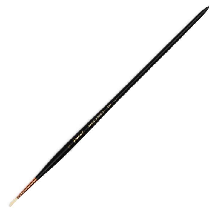 Paris Classic Brush Round st 1 in the group Art Supplies / Brushes / Natural Hair Brushes at Pen Store (108303)