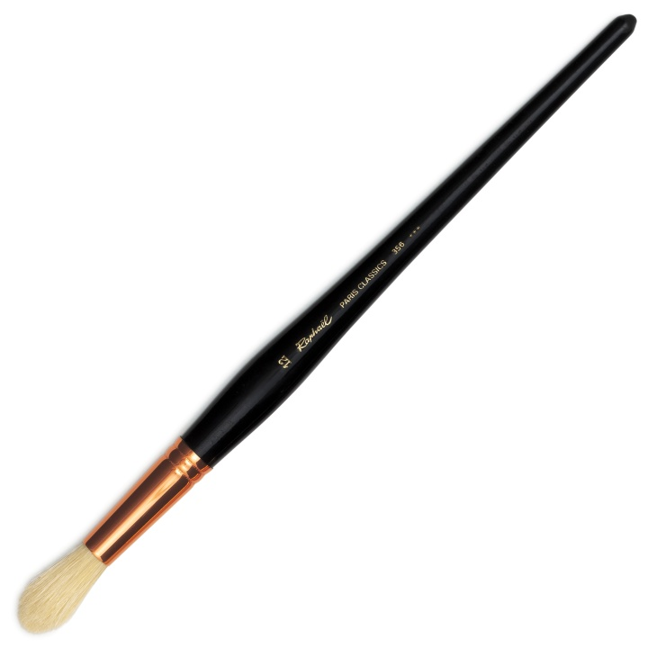 Paris Classic Brush Round st 12 in the group Art Supplies / Brushes / Natural Hair Brushes at Pen Store (108308)