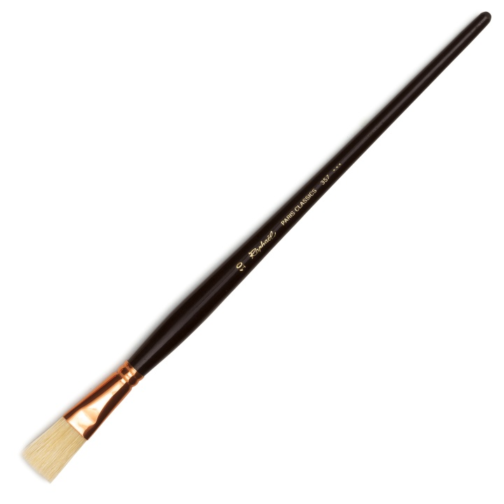 Paris Classic Brush 357 Flat st 10 in the group Art Supplies / Brushes / Natural Hair Brushes at Pen Store (108311)