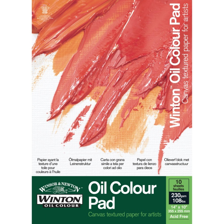 Winton Oil Colour Paper Pad 230g 35x25 cm in the group Paper & Pads / Artist Pads & Paper / Acrylic Pads at Pen Store (108410)