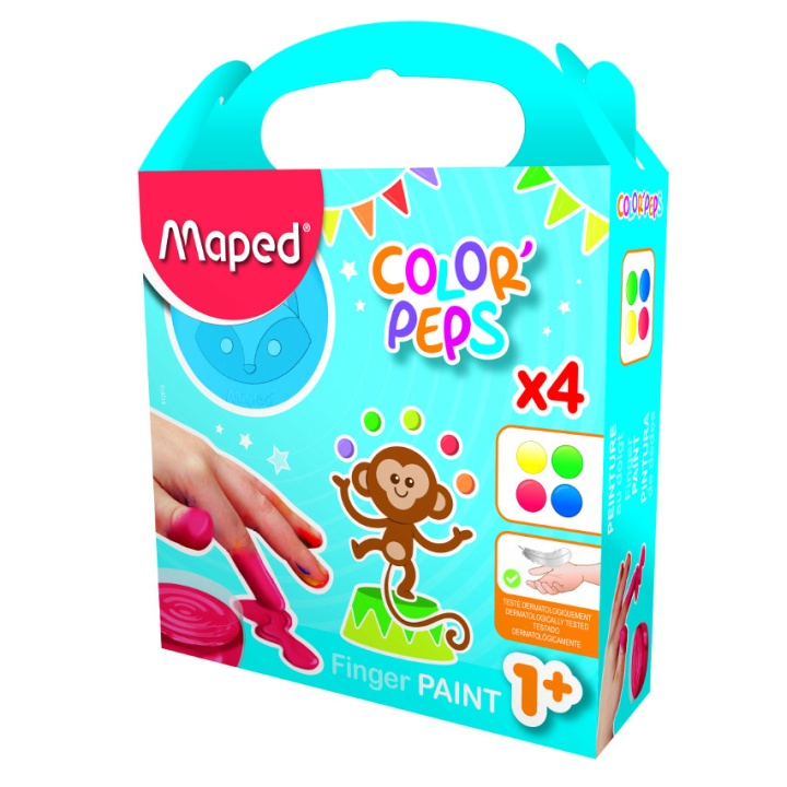 Color Peps Early Age 4 Finger Paint Pot 80 g in the group Kids / Kids' Paint & Crafts / Finger Paint at Pen Store (108764)