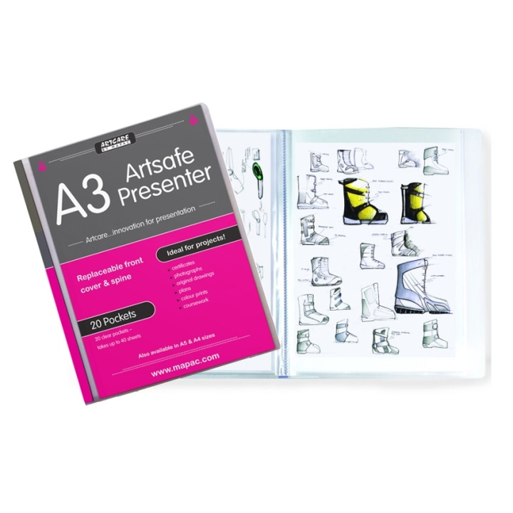 ArtSafe Presenter A3 in the group Art Supplies / Art Accessories / Storage at Pen Store (108784)