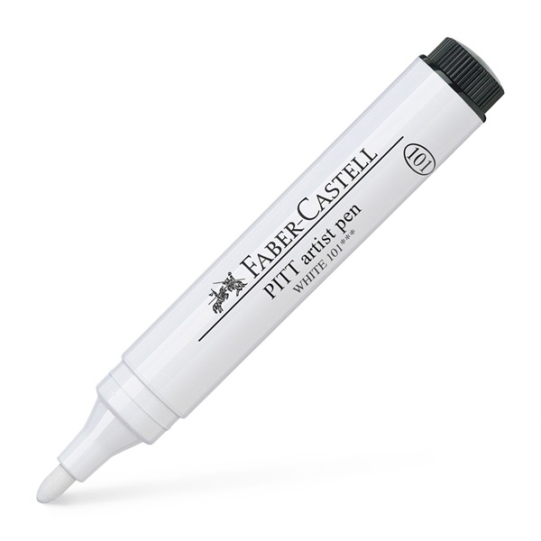 India Ink Pitt Artist Pen White 1.5 mm in the group Pens / Artist Pens / Illustration Markers at Pen Store (108842)