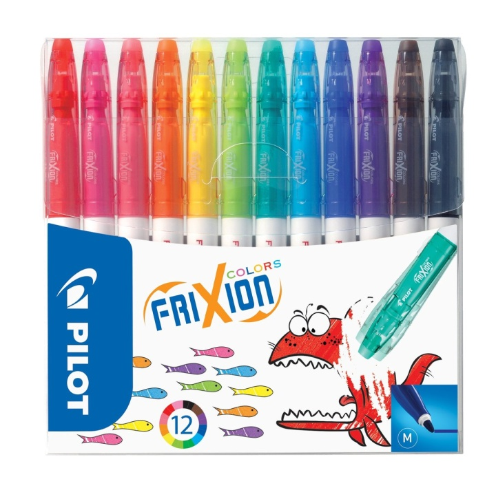 Frixion Colors 12-pack in the group Pens / Artist Pens / Felt Tip Pens at Pen Store (109080)
