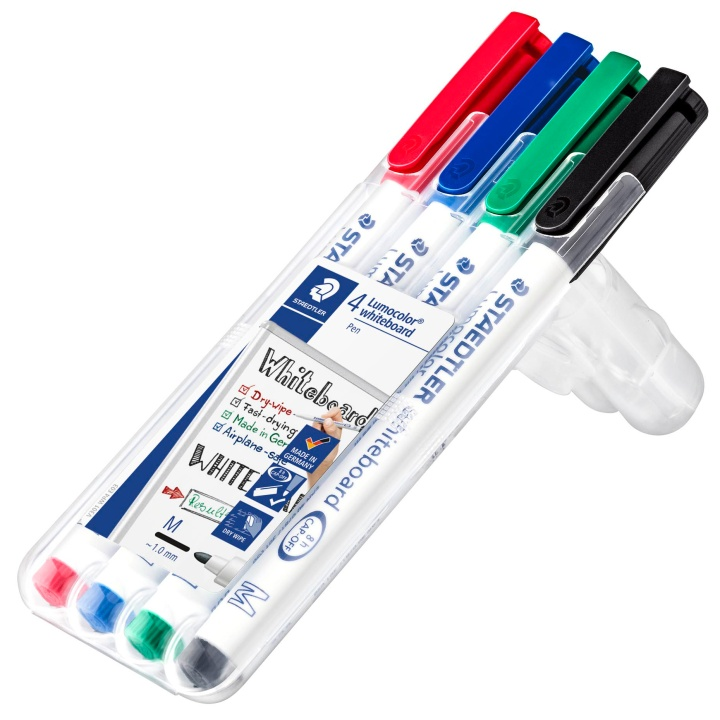 4-pack Lumocolor Whiteboard Medium in the group Pens / Office / Whiteboard Markers at Pen Store (110983)