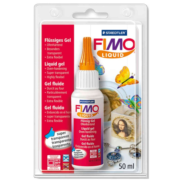 FIMO Liquid Gel 50 ml in the group Kids / Kids' Paint & Crafts / Modelling Clay for Kids at Pen Store (110997)