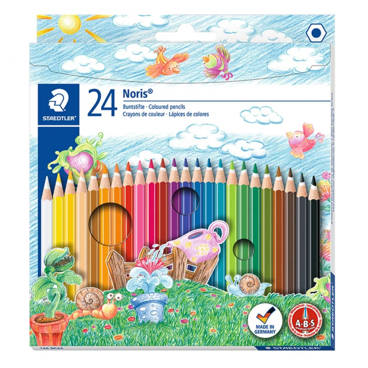 Noris Club colored pencils 24-pack in the group Kids / Kids' Pens / 3 Years+ at Pen Store (111077)
