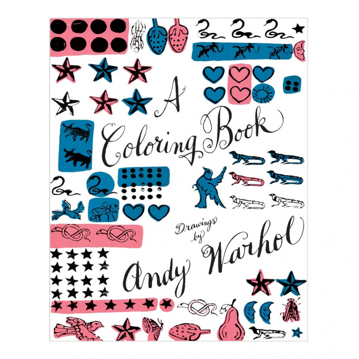 A Coloring Book: Drawings by Andy Warhol in the group Hobby & Creativity / Books / Adult Coloring Books at Pen Store (111738)