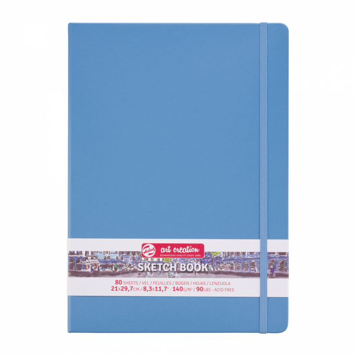 Art Creation Sketchbook A4 Lake Blue in the group Paper & Pads / Artist Pads & Paper / Sketchbooks at Pen Store (111767)