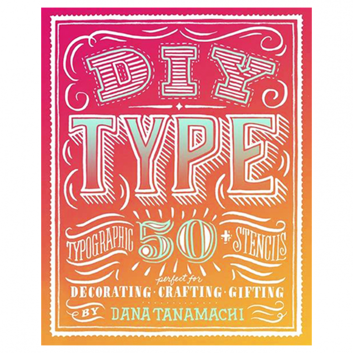 DIY Type: 50+ Typographic Stencils in the group Hobby & Creativity / Create / Crafts & DIY at Pen Store (111833)