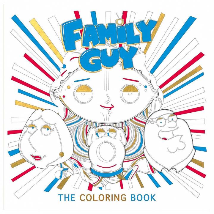 Family Guy: The Coloring Book in the group Hobby & Creativity / Books / Adult Coloring Books at Pen Store (111850)