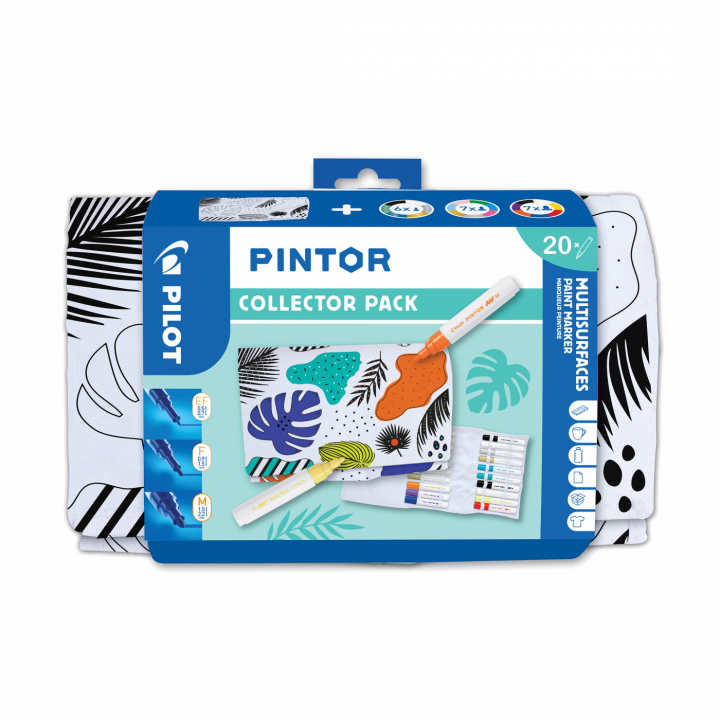 Pintor Collector Pack 20-set in the group Pens / Artist Pens / Illustration Markers at Pen Store (112440)
