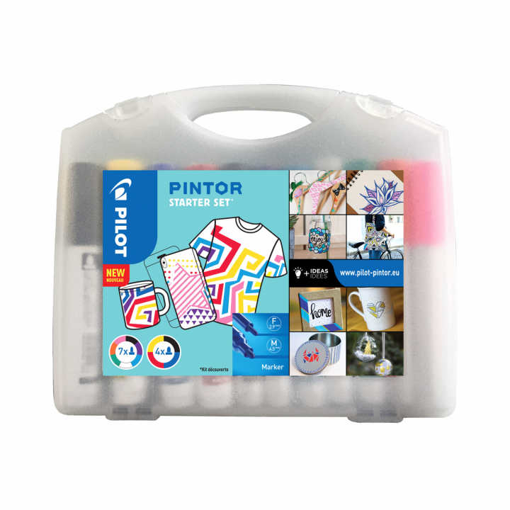 Pintor Starter Sett x 11 in the group Pens / Artist Pens / Illustration Markers at Pen Store (112441)