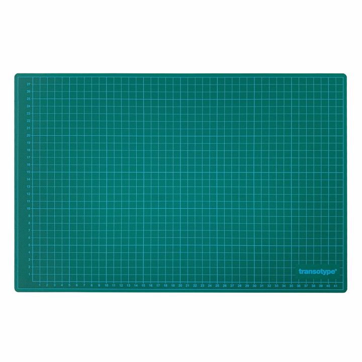 Cutting Mat Green/Black A3 in the group Hobby & Creativity / Hobby Accessories / Cutting Mats at Pen Store (112480)