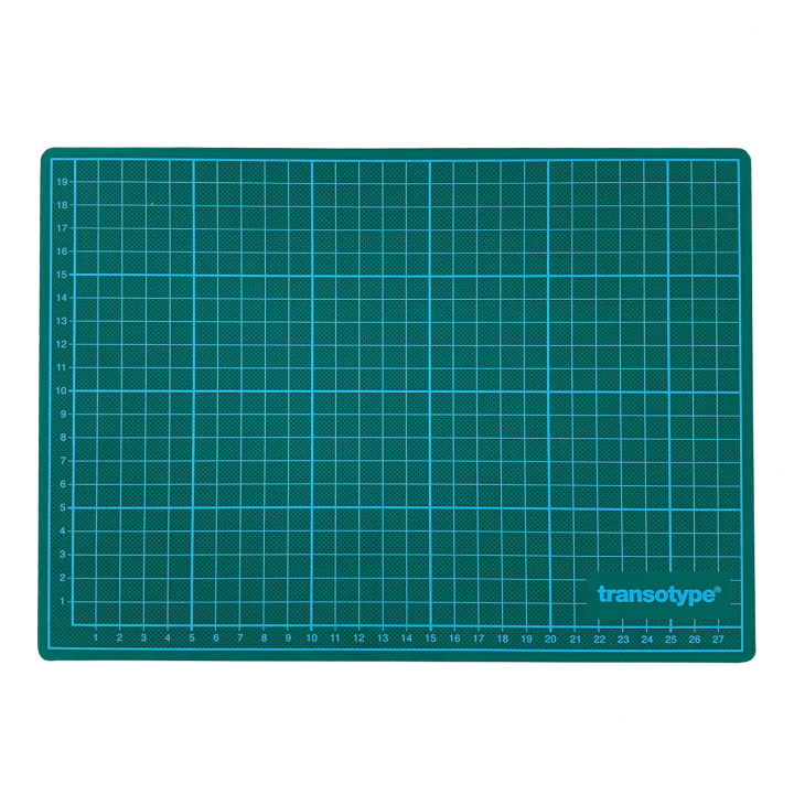 Cutting Mat Green/Black A4 in the group Hobby & Creativity / Hobby Accessories / Cutting Mats at Pen Store (112481)