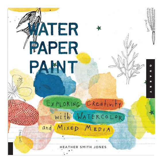 Water Paper Paint in the group Hobby & Creativity / Books / Art Instruction Books at Pen Store (112510)