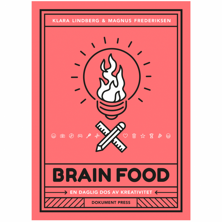 Brain Food: A Daily Dose of Creativity in the group Hobby & Creativity / Create / Crafts & DIY at Pen Store (112535)