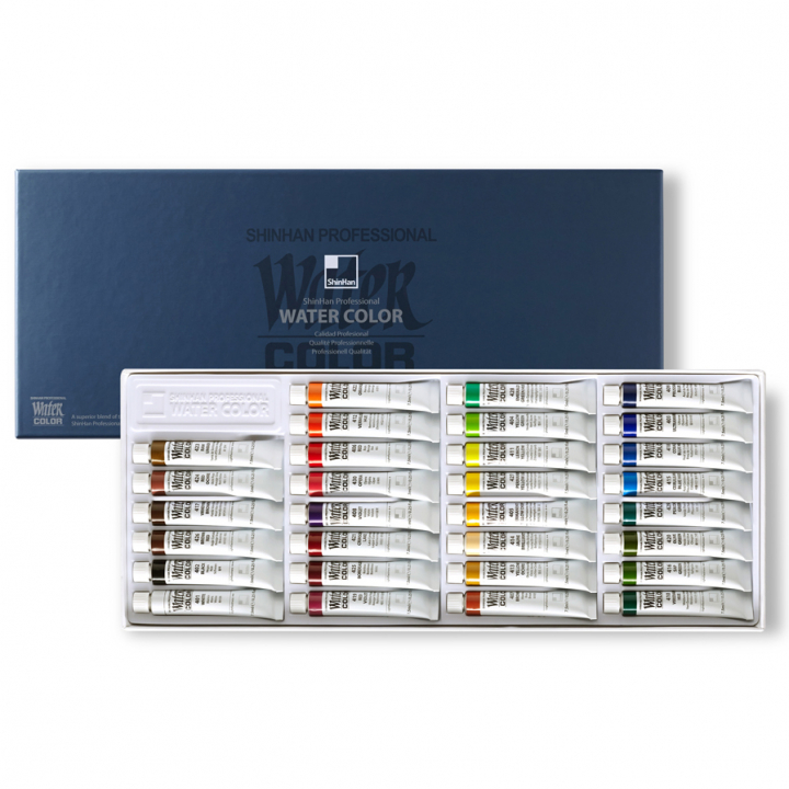 Water Colors PRO 30-set in the group Art Supplies / Colors / Watercolor Paint at Pen Store (112597)