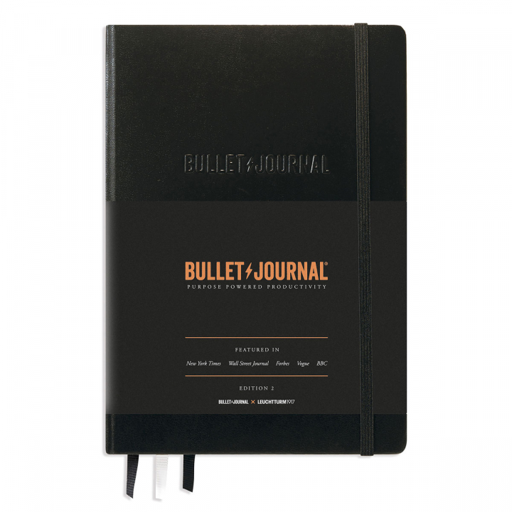 Bullet Journal Mark II A5 Black  in the group Paper & Pads / Note & Memo / Notebooks & Journals at Pen Store (125495)