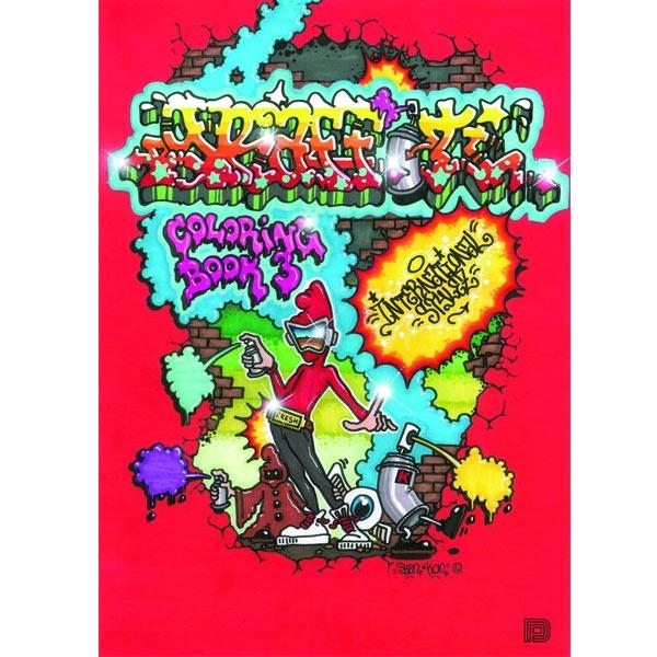 Books Graffiti Coloring Book 3 - International Styles Pen Store