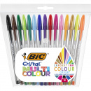 Cristal Multicolor Ballpoint 15-set