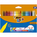 Kids Plastidecor Crayons 24-set