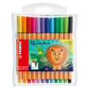 Point 88 Mini Fineliner 12-pack