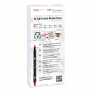 ABT Dual Brush pen 12-set Primary