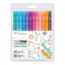 TwinTone Marker Pastel 12-pack