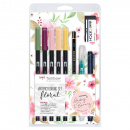 Watercoloring set Floral
