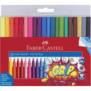 Grip Colour Markers - Set of 20