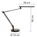 Mambo LED Lamp Grey