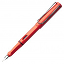 Safari Fountain pen Shiny red