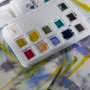 Van Gogh Pocket Box Water Color Muted - Set of 12