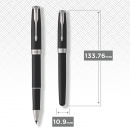 Sonnet Black/Chrome Rollerball