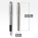 Sonnet Steel/Chrome Fountain pen