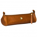 Zazza Leather Pen Case Cognac